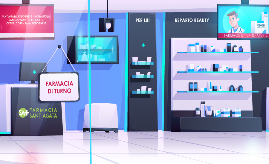 Farmacie di turno a S.Agata Bolognese, San Giovanni in Persiceto, Crevalcore e dintorni