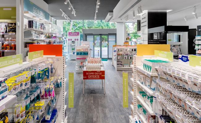Foto dell'interno della Farmacia Santa'Agata